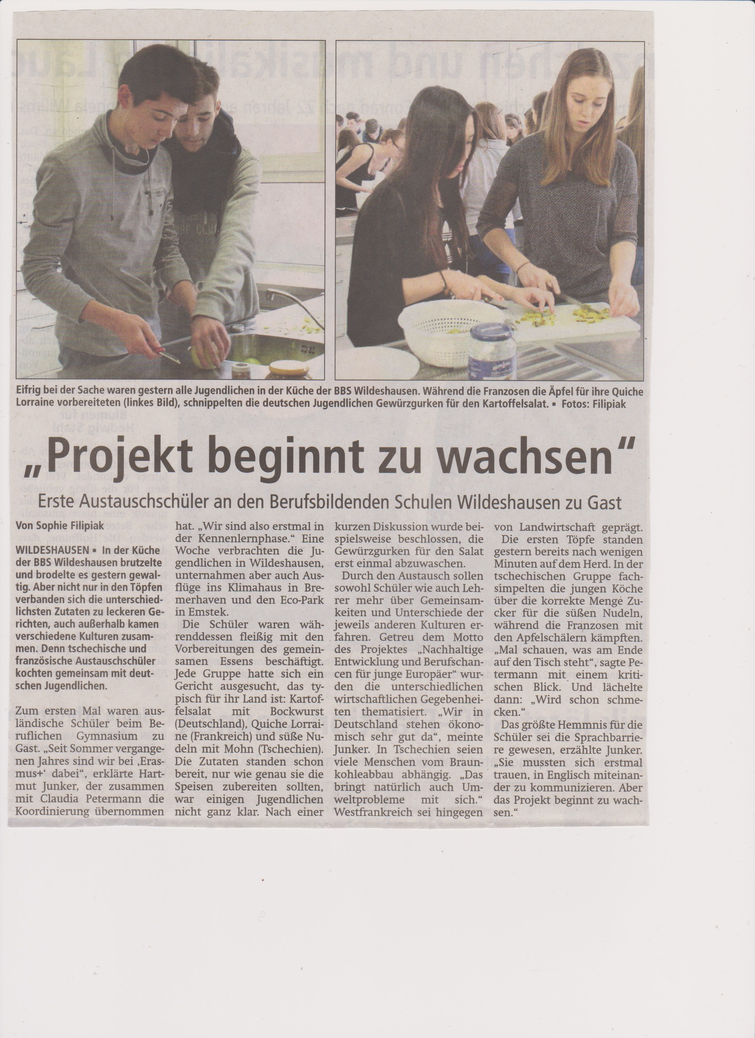 Article presse allemand